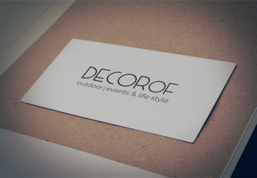 logotipo decorof
